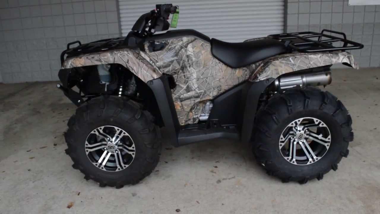 2014 Rancher 420 Camo Itp Wheels Tires At Honda Of