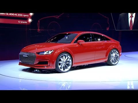 NEW Audi TT Sportback concept - World Premiere
