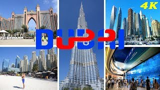 DUBAI - UNITED ARAB EMIRATES 4K 2018 TOP ATTRACTIONS