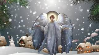Поздравление с Рождеством Христовым. Видео открытка для друзей.