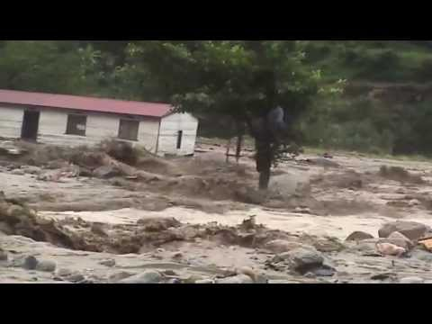 A tale of Kasese floods victim cheating death