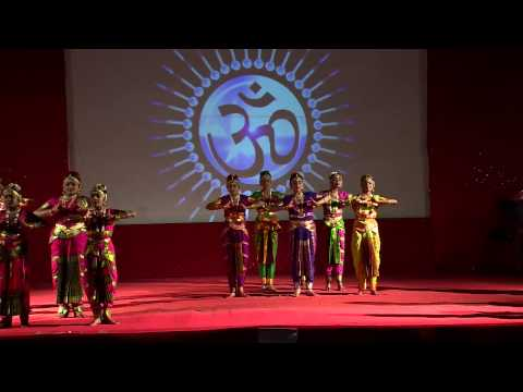 Graceful Bharatanatyam - Shanti Mantra video