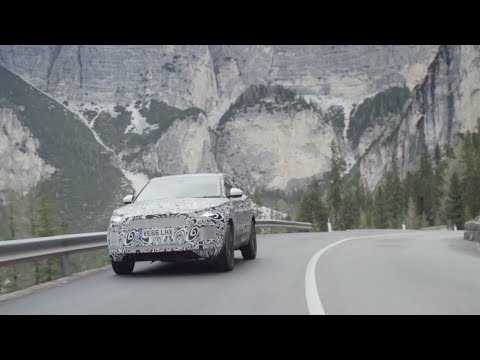 Get to see the Jaguar E-Pace while testing