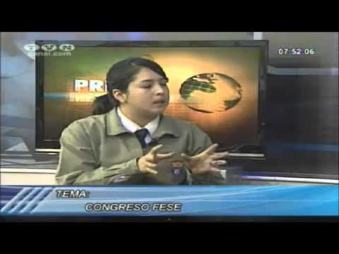 Lady Morales en TVN Canal