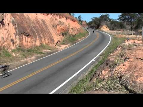 Downhill Speed | Skate Longboard ES Speed Trip - Partiu Downhill - gopro