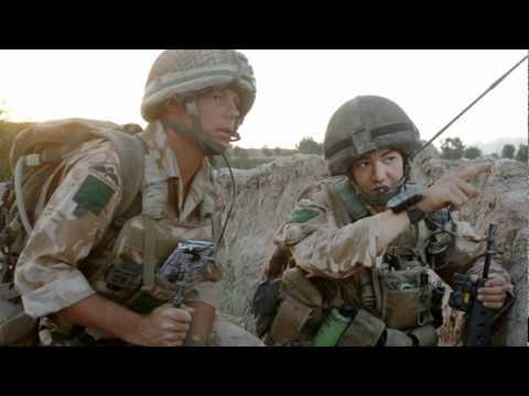 GUNS N' ROSES KNOCKING ON HEAVENS DOOR. BRITISH FORCES TRIBUTE