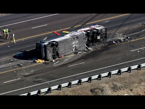 Police Investigate Deadly New Mexico Bus Crash