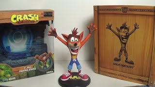 "Crash Bandicoot 9"" PVC Painted Statue (Day One Exclusive Edition) Unboxing"