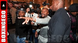 FLOYD MAYWEATHER GOES HAM ON LIAM WALSH BROTHERS! CALLS THEM A B🐶TCH & P🐱SSY SLAP THREATS @AGE 40!
