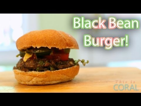 The Edgy Veg: Black Bean Burger Recipe!