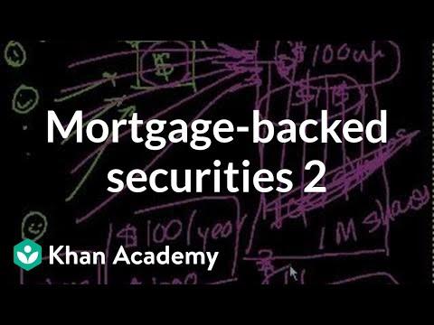 Mortgage-backed securities II   Finance & Capital Markets   Khan Academy