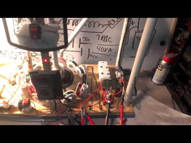 Caveman Self-Charging, Self- Powered, Star of David Motor Generator
