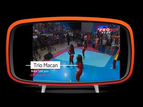 Trio Macan - Buka Sitik Joss (Live Performance At Dahsyat)