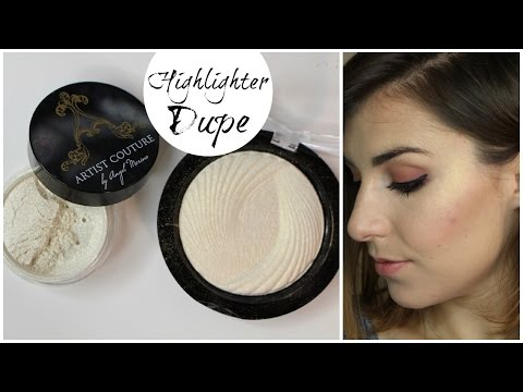 Dupe or Dud: Artist Couture vs. Makeup Revolution Highlighters | Bailey B.