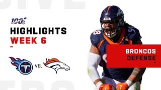 Broncos Defense Gets the Shutout!! 🙅‍♂️| NFL 2019 Highlights