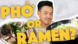 Phở or Ramen? - Asian Showdown - Lunch Break!