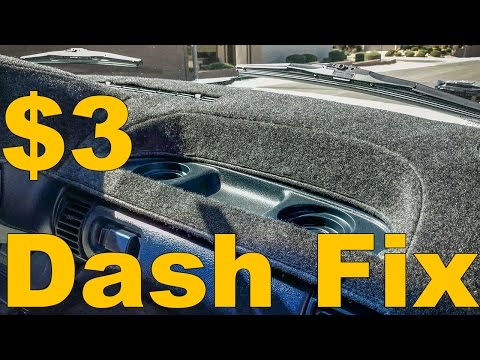 How To Fix Your Broken Wobbling Dash For $3- 1995 To 1999 GMC Chevrolet Full-Size Truck