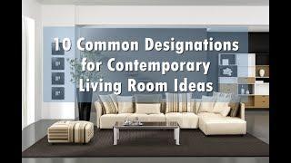 Contemporary Living Room Ideas - Furniture arrangement ideas for contemporary living rooms