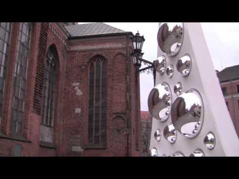 Views Around the City of Riga, Latvia - January 2014