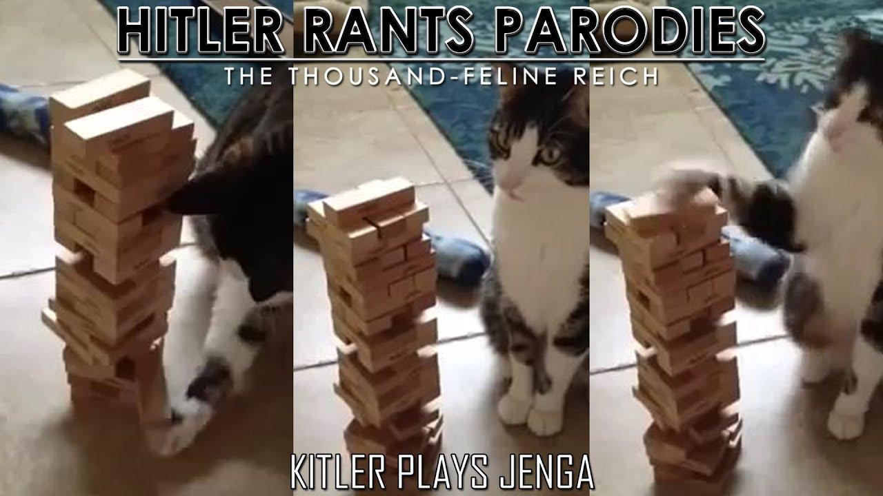 Kitler plays Jenga