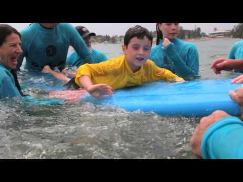 Disabled Surfers Hands on Day at Terrigal 2012
