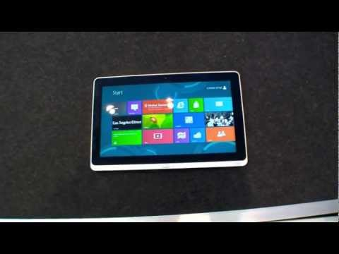 First Look: Acer Iconia W700 Windows 8 Tablet