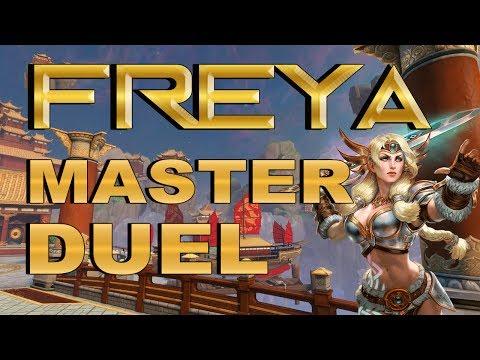 SMITE! Freya, Llegar a late es el desafio! Master Duel S4 #19