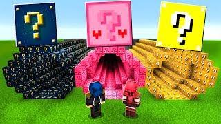Minecraft ITA - NON SCEGLIERE IL TUNNEL DI LUCKY BLOCK SBAGLIATO
