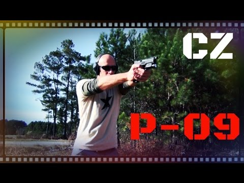 CZ P-09 Full Size 9mm Handgun Review (HD)