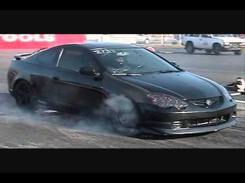 Flow Acura on Drag Rsx
