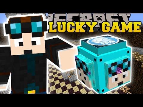 Minecraft: DANTDM LUCKY BLOCK CHALLENGE - Modded Mini-Game