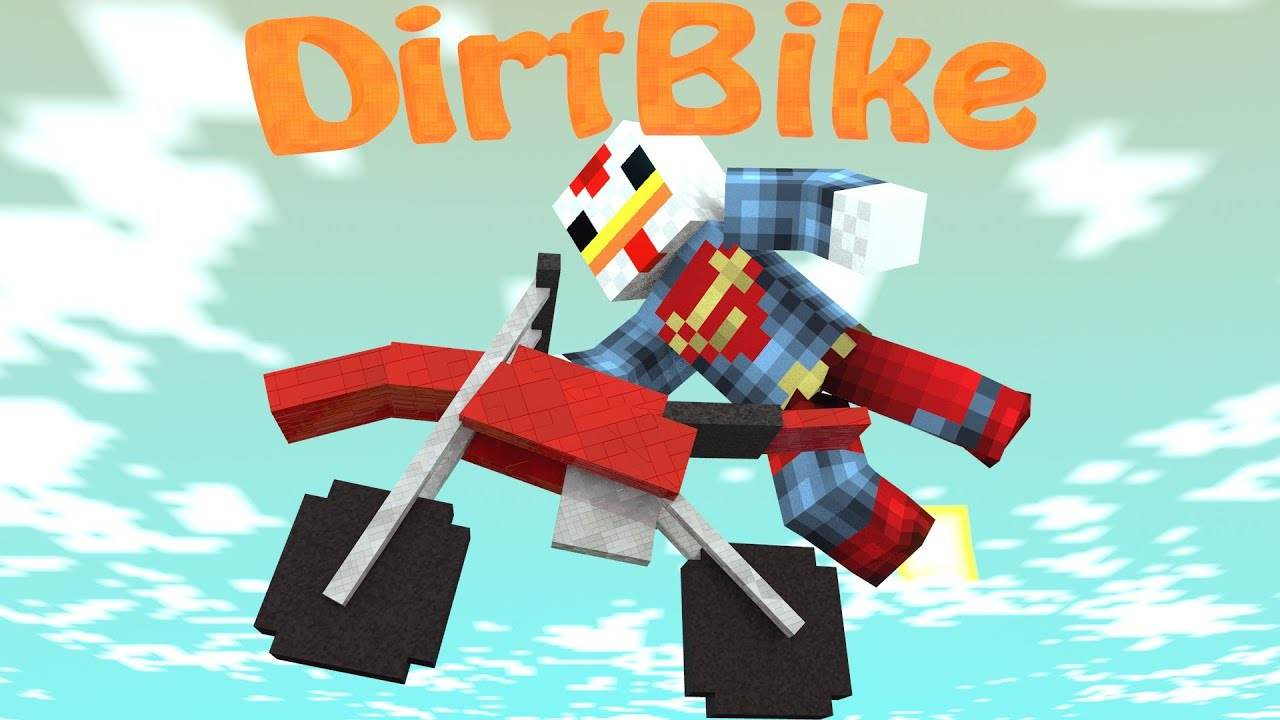 Dirt Bikes Minecraft Mod Motocross Mod Minecraft Dirt