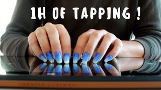 ASMR 1H OF TAPPING NO TALKING
