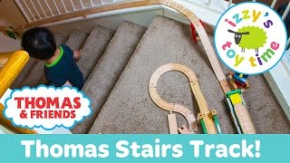 Thomas and Friends STAIR CHALLENGE with Thomas Train KidKraft and Brio! Toy Trains for Kids