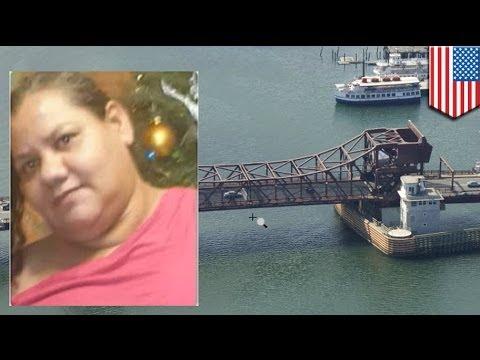 Woman crushed to death by drawbridge in Boston