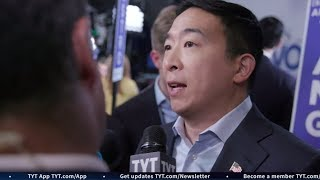 Andrew Yang Explains Democracy Dollars at Houston Debate