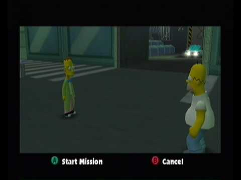 The Simpsons Hit and Run Walkthrough pt25