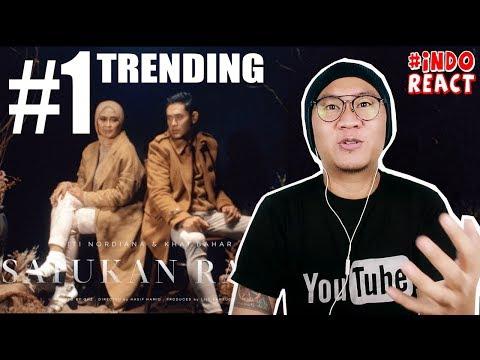 Download Trending Nomor 1 - SITI NORDIANA Feat. KHAI BAHAR - SATUKAN RASA #INDOREACT Mp4 baru