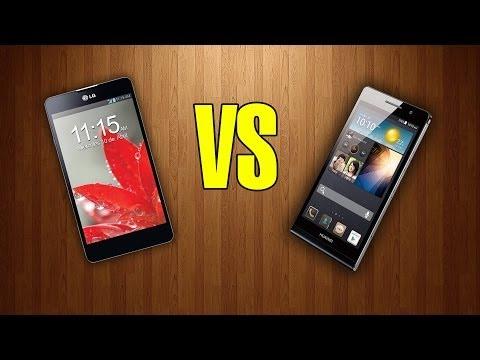 Huawei Ascend P6 Vs LG Optimus G