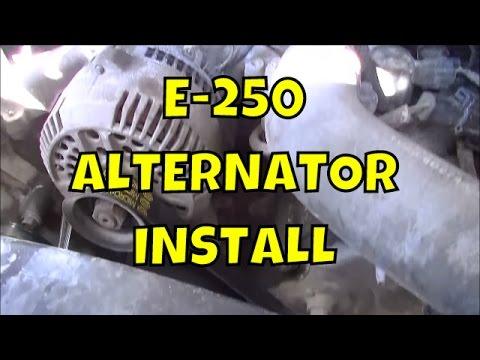 How to change an alternator