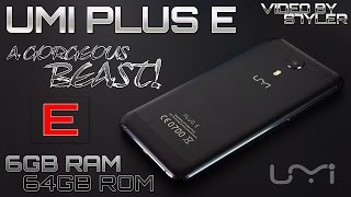 UMi Plus E (Unboxing & First Look) 6GB RAM, 2.3GHz Helio P20 - A Beautiful Beast! // Video by s7yler