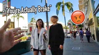 MESSING WITH RICH PEOPLE ON RODEO DRIVE!