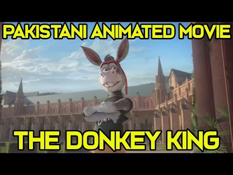 Review of First Teaser of The Donkey King [Pakistani Animated Movie]