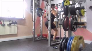 počep Hypertrophy Squat Workout