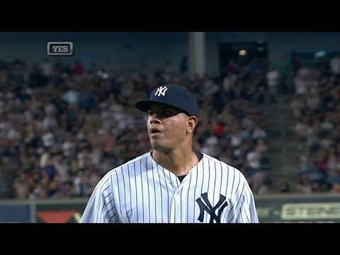 DET@NYY: Betances hits 100 mph to strike out Miggy