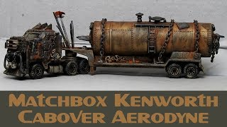 Matchbox Custom Post Apocalyptic Zombie Gasoline Tanker