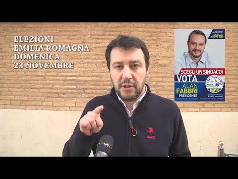 EMILIA-ROMAGNA, SI VOTA DOMENICA 23 NOVEMBRE DALLE 7 ALLE 23