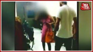 Delhi: शख्स ने लड़की की बेरहमी से पिटाई की, Video हुआ Viral