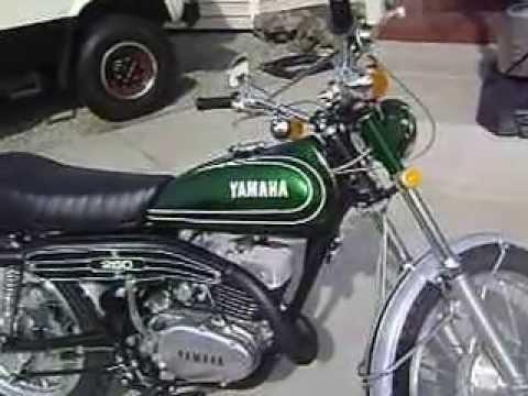 1973 DT3 Yamaha 250 Enduro Restoration