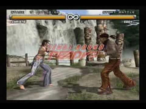 Tekken 5 - Christie video